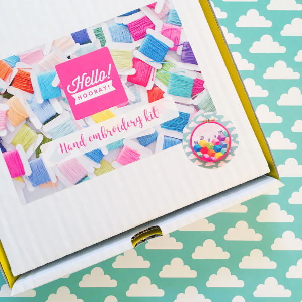 One Step at a Time kit box | Hello! Hooray!