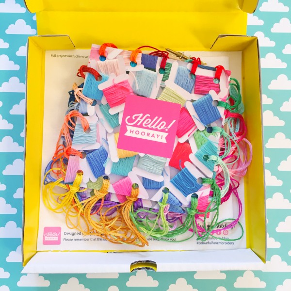 One Step at a Time kit contents | Hello! Hooray!