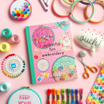 Colourful Fun Embroidery by Clare Albans | Hello! Hooray!