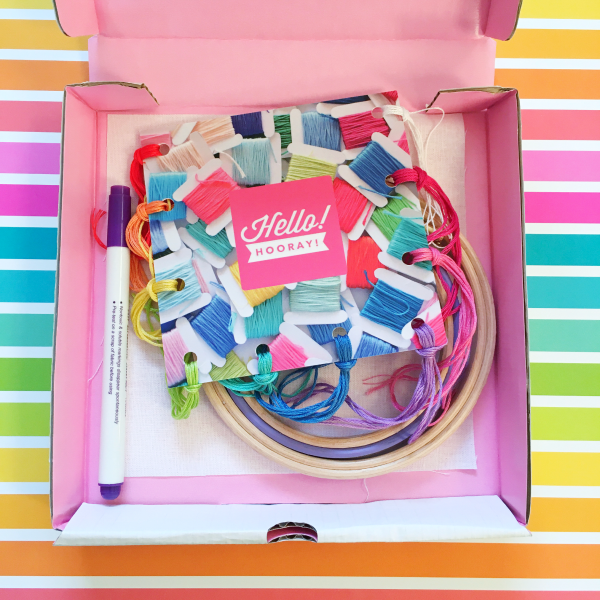 Good Vibes kit contents | Hello! Hooray!