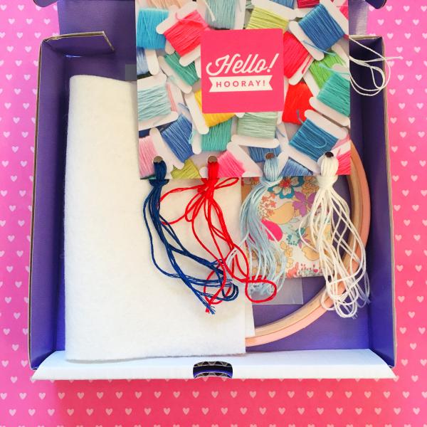 Snail mail kit contents | Hello! Hooray!
