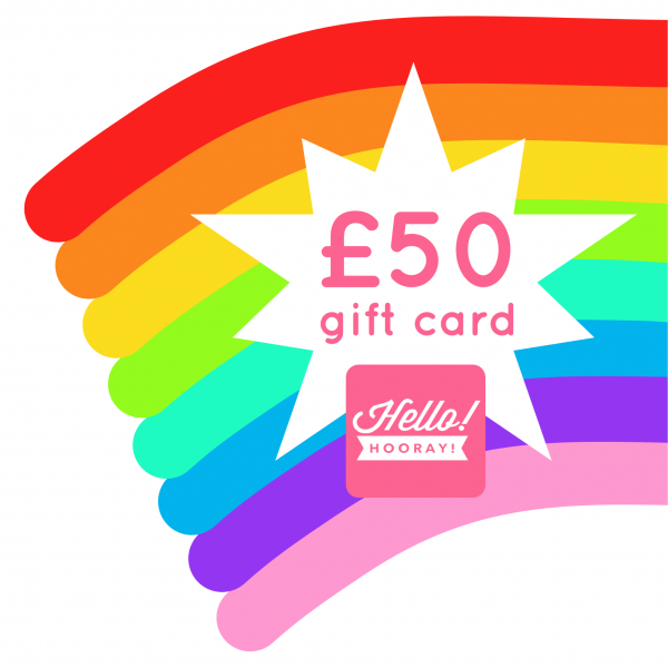 £50 Hello! Hooray! gift card