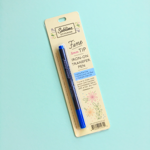 Blue Sublime Stitching pen | Hello! Hooray!