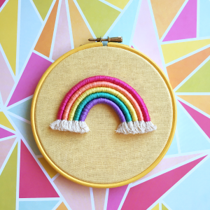 Buttercup rope rainbow hoop | Hello! Hooray!