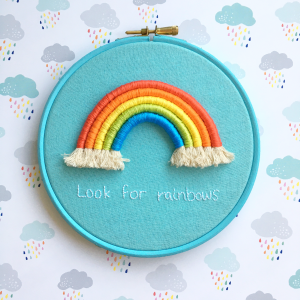 Look for rainbows hoop | Hello! Hooray!