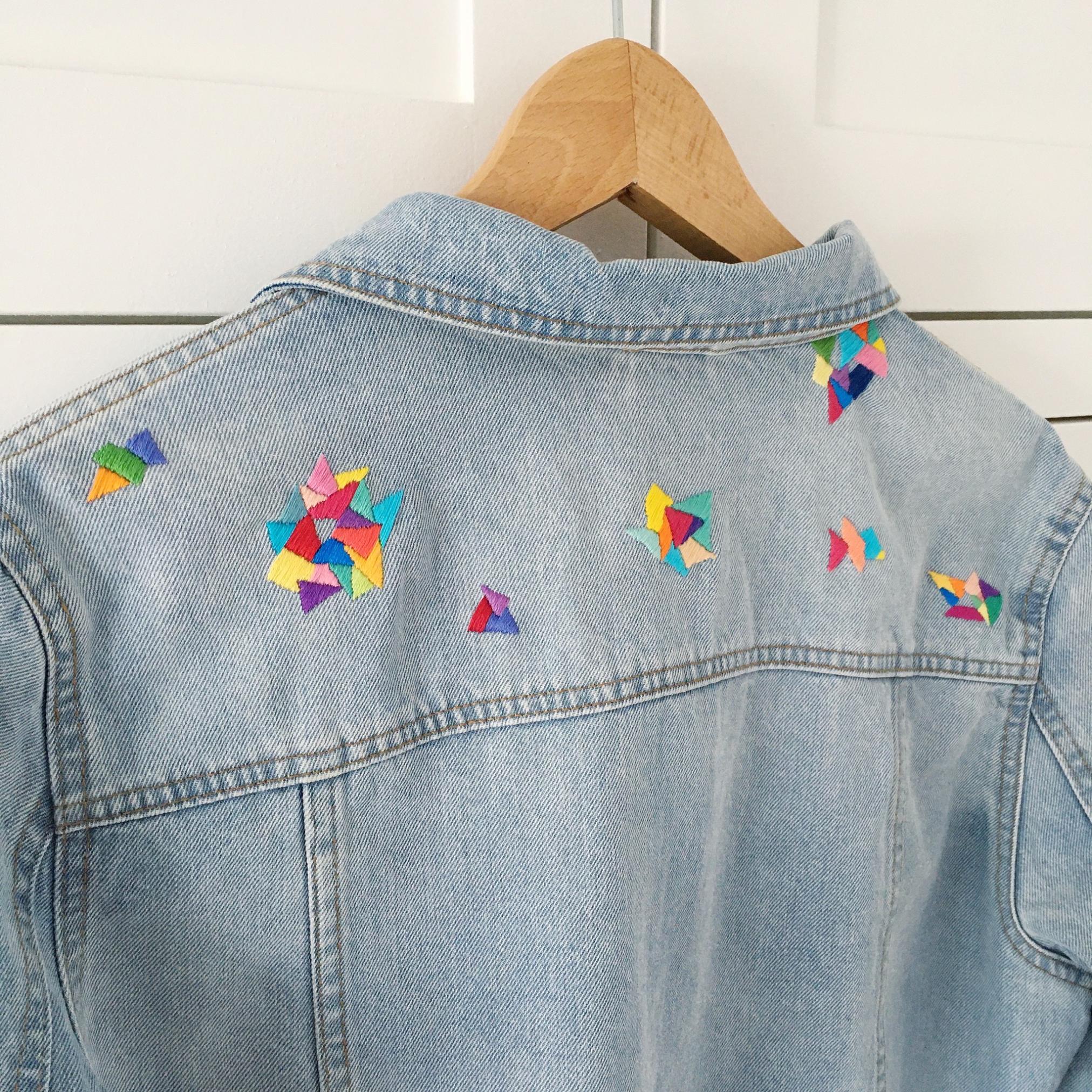 Customised denim jacket | Hello! Hooray!