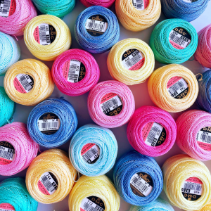 DMC No 8 perle thread ball | Hello! Hooray!