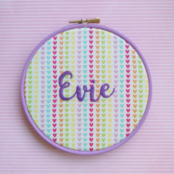 Stitched hand lettering online embroidery lesson | Hello! Hooray!