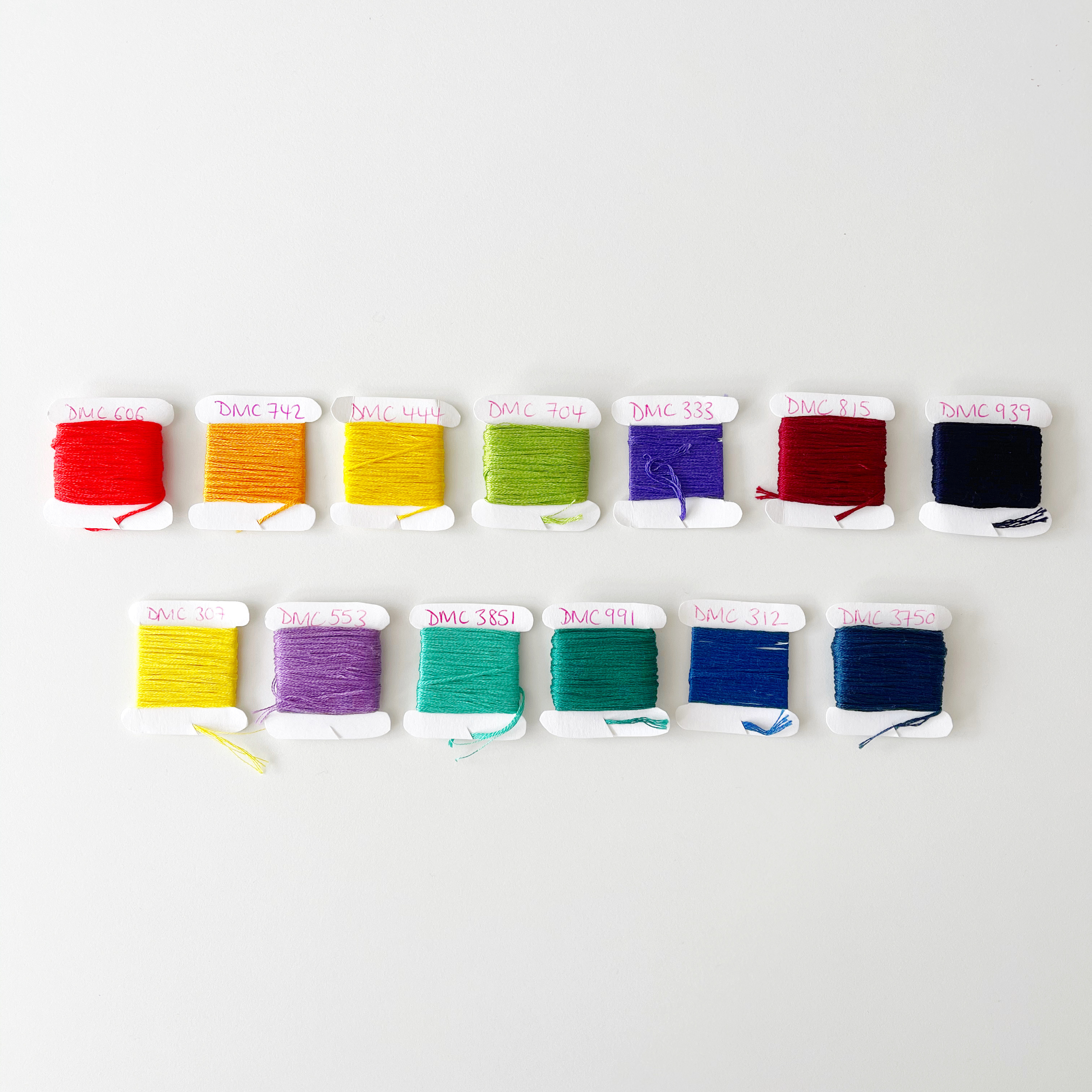 Jerseys colour palette with colours | Hello! Hooray!