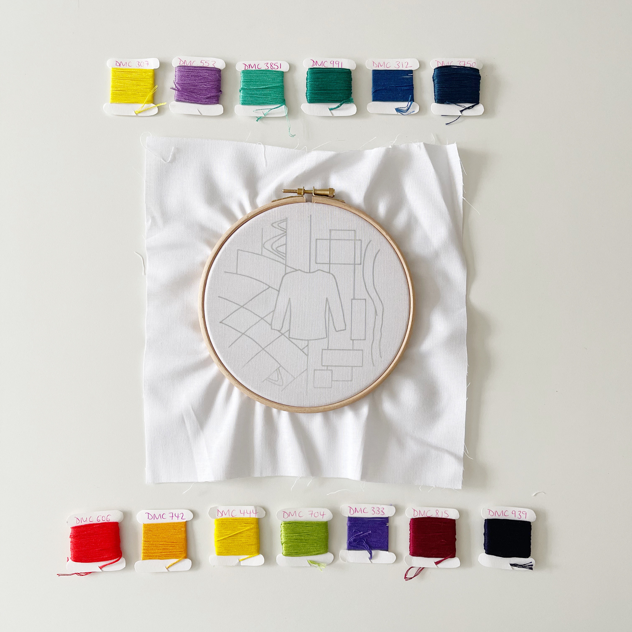 Seaman's jersey hoop with colours | Hello! Hooray!