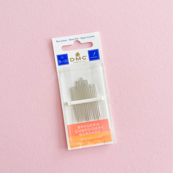 DMC embroidery needles size 5-10   Hello! Hooray!