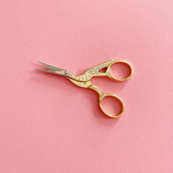 DMC stork embroidery scissors   Hello! Hooray!