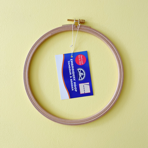 """DMC wooden embroidery hoops 18cm (7"""")"""