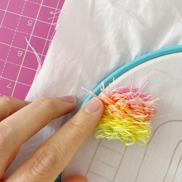 LOVE pastel turkey stitch kit   Hello! Hooray!